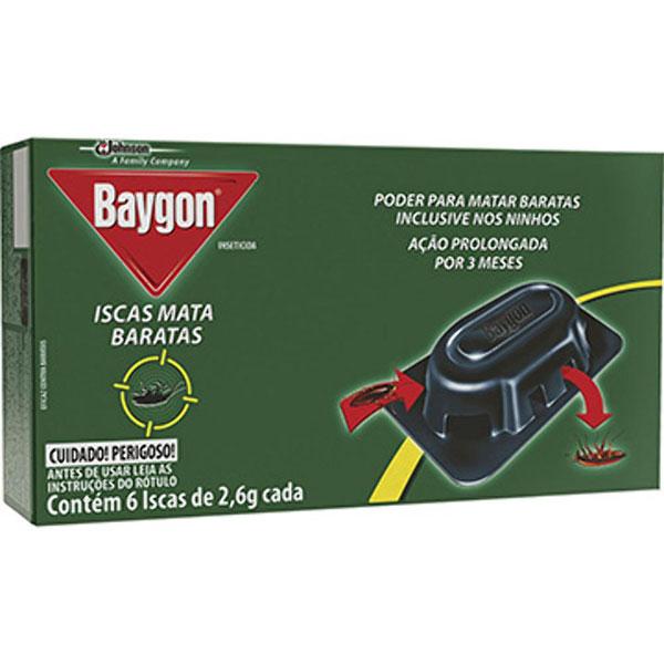 Baygon mata baratas 6 iscas