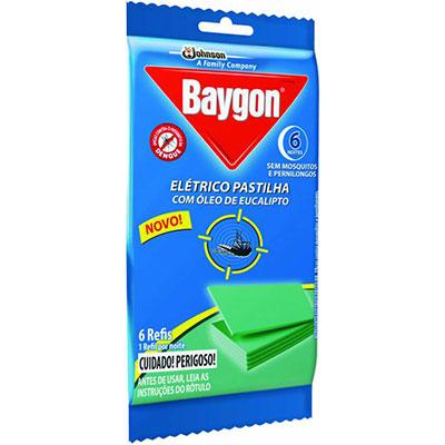 Baygon pastilha eucalipto 6uni