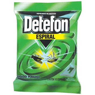 Detefon espiral 10unidades