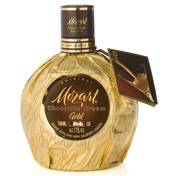 Licor aus chocolate mozart